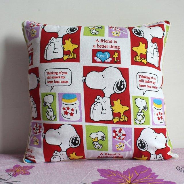 Pillowcase 1pcs 19 Inch 50cm Cute Dog Cotton Pillow Cover Whole P33