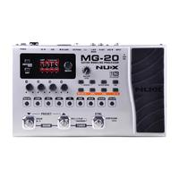 NUX MG 20 Electric Guitar Modeling Processor Multi Effects Guitar Pedal Drum Pattern Switch Pedal Solo Tapo Delay