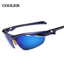 COOLSIR 2017 fashion style men's wise choice of outdoor sports  mirror anti sandstorm Polarized sunglasses 6 colors p8515