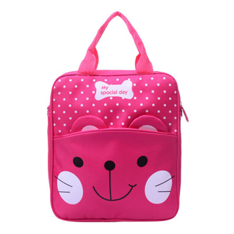 2018 children school bags nylon handbags 5 colors lovely Shoulder bag kids bag ...