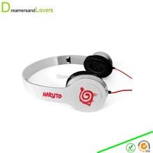 Anime Naruto Leaf Village Headphone Headset