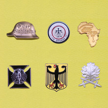 Médailles militaire edelweiss luftwaffe badge ww2 allemand allemagne épingle wehrmacht fer croix épingle insignes deutschland(China)