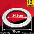 12 inch Aluminum Lazy Susan swivel plate round turntable bearings Hardware Accessories