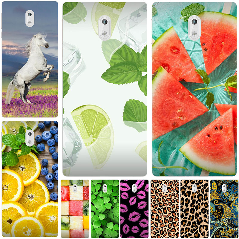 Patterned <font><b>Case</b></font> For <font><b>Nokia</b></font> <font><b>3</b></font> TA-1020 TA-1032 5.0