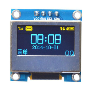 0.96 Inch 4Pin Blue Yellow IIC