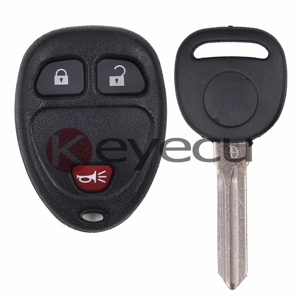 OUC60270 New Keyless Remote Car Key Fob for Pontiac Torrent 2007-2009 FCC ID