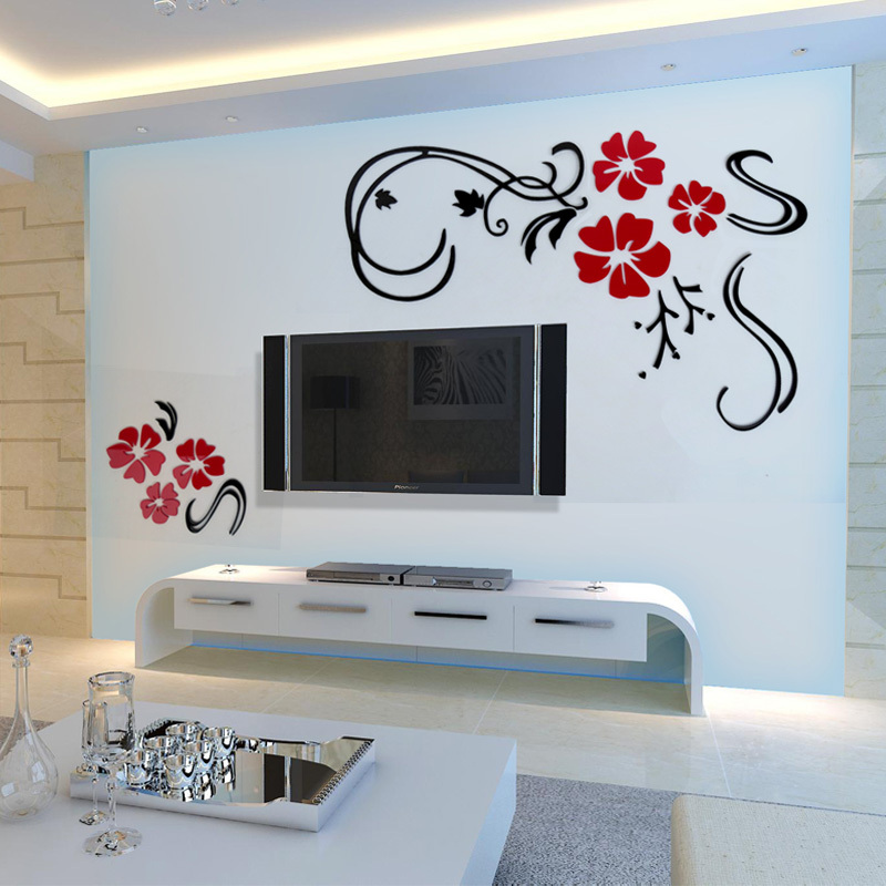 lai ya carved three dimensional wall stickers wall stickers living