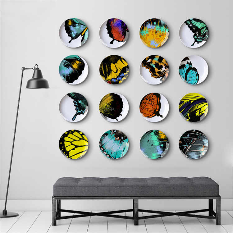 Erfly Theme Series Colorful Ceramic