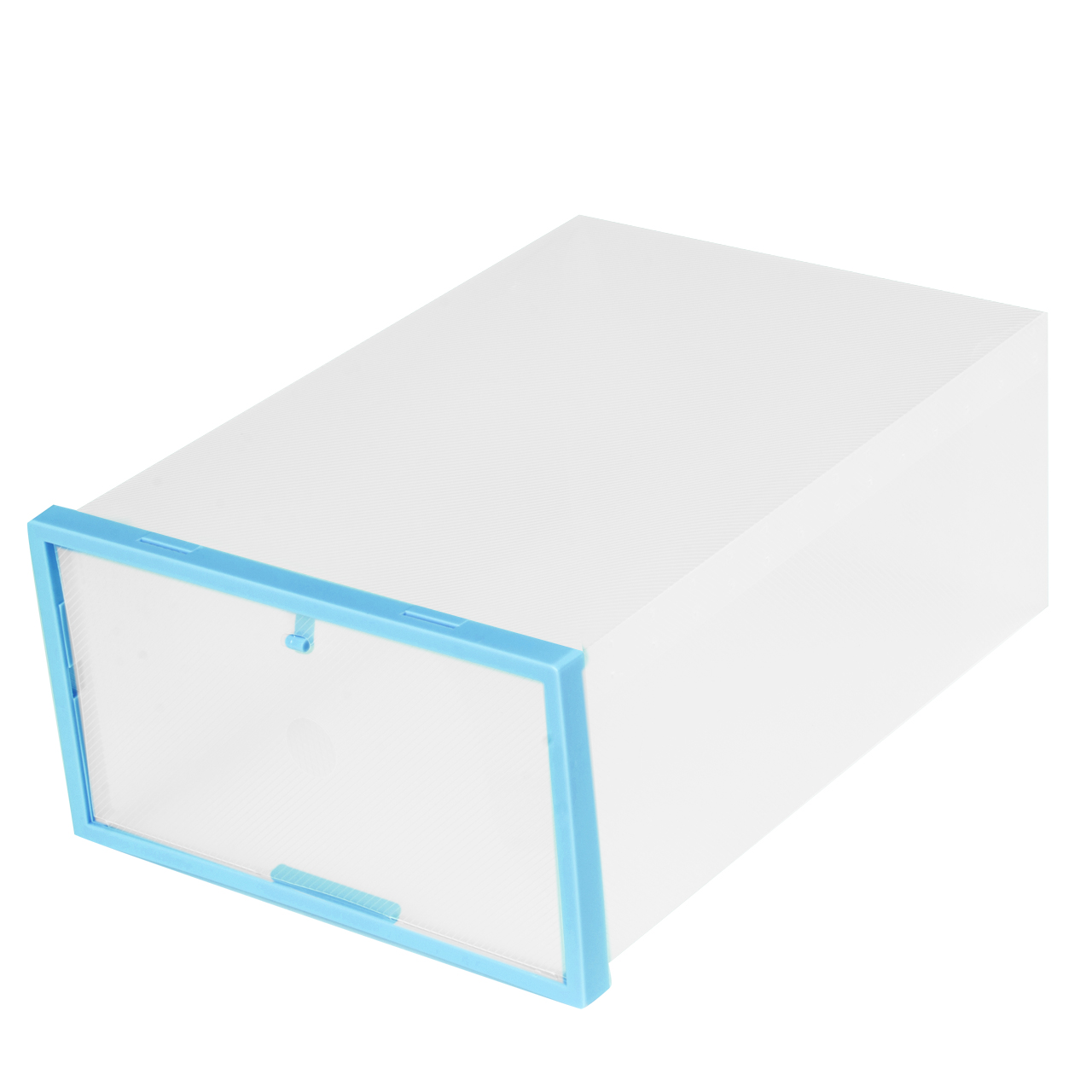 Clear Transparent Drawer Case Plastic Shoes Boxes Storage Organizer  Stackable Eco Friendly Modern Box
