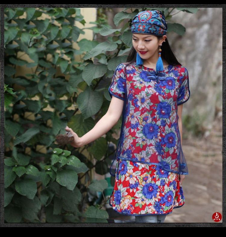 Mexican Style Spring And Autumn Ethnic Vintage Embroidery Flowers Bandanas Original Red Blue Print Hat Cat Free Shipping 20