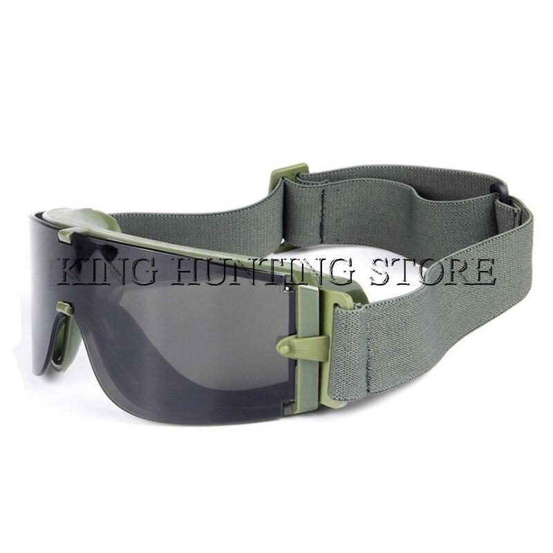 Airsoft Engrenagem Tiro Tático USMC Tactical óculos de Sol Óculos Óculos de  Proteção Do Exército Airsoft Paintball Goggles Preto Tan Verde Quadro em ... 75509e4c08