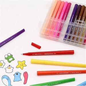 Image 2 - Youpin KACO 36 renkler çift İpucu suluboya kalemler boyama Graffiti sanat Markers çizim seti sanat çift fırça kalem toksik olmayan güvenli #