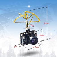 AKK A1 Mini 5 8Ghz 40CH 25mW FPV Transmitter Raceband 600TVL FPV Micro AIO Camera With