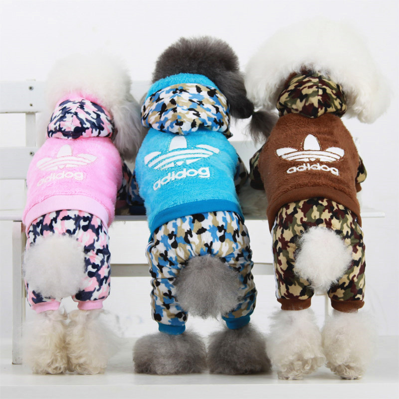 Small medium winter pet dog clothes xs s m L XL size super ...