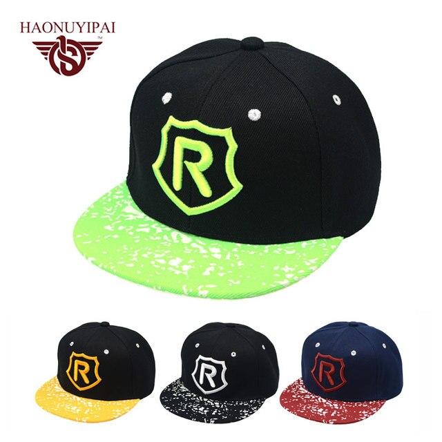 b5069c47c33 Boy Snapback Cap Headwear Girls Hip Hop Kids Baseball Sun Caps Spring Cap  Kid Children Boys Girls Mesh Beach Hats 3-8 Years Old