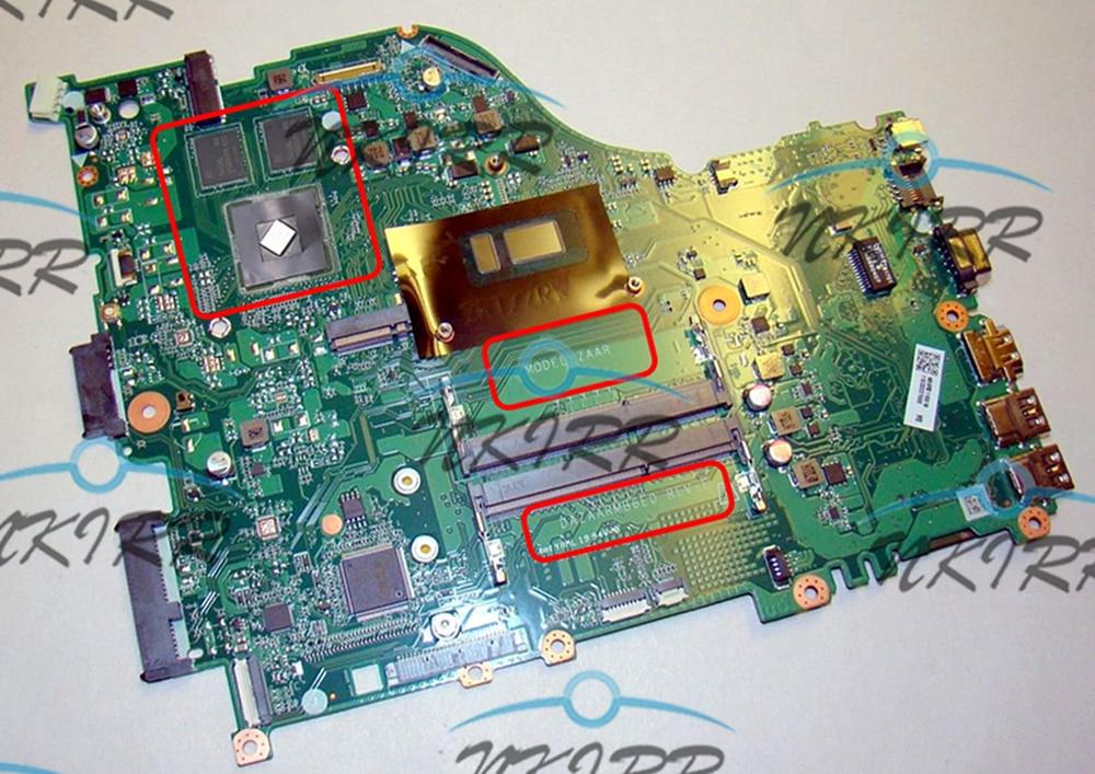 DAZAARMB6E0 REV: E ZAAR I5 CPU DDR4 MX130 placa madre para Acer Aspire E5-576 E5-576G