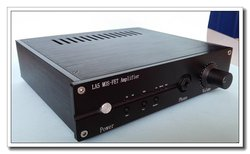 LA5 MOS-FET Pure Class A Headphone Amplifier Field Effect Tube HiFi OPA2604 Headphone Amp