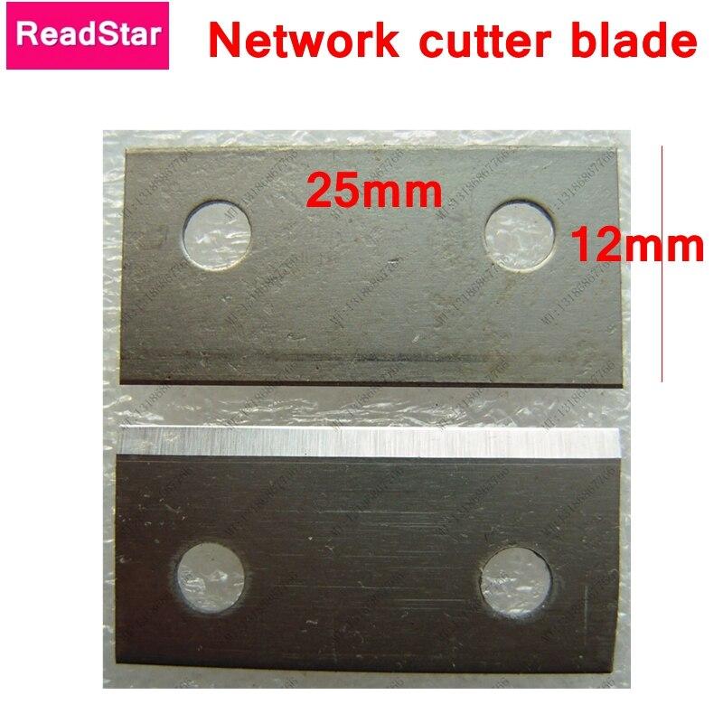 5 шт./лот readstar высокое качество sunkit SK-808B сетевой кабель лезвие резака 25x12 мм лезвие цементация стали кабельный резак лезвие