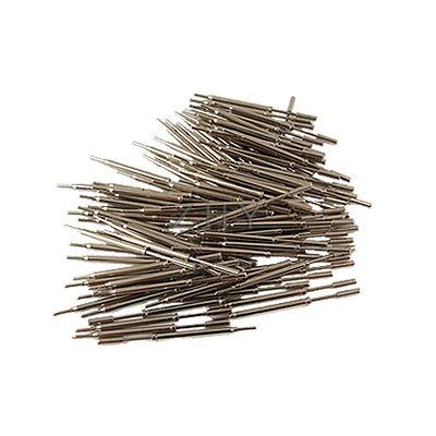 ФОТО 100 Pcs 1.9mm Serrated Tip Knurled Spring Test Probe