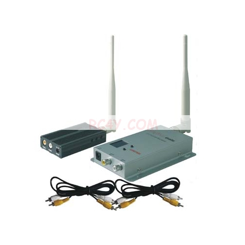 FPV 1 2g 1 3g 2500mw 8CH Wireless Audio Video av transmitter and 12CH receiver FPV