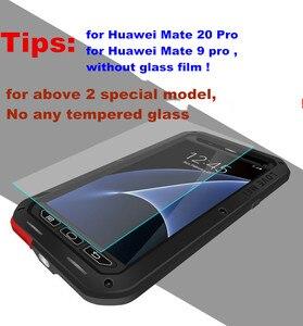 Image 5 - สำหรับ Huawei P30 P40 Pro P20 Lite P10 Mate 30 Pro 20 10 Nova 4E 3E 4 กรณี LOVE MEI โลหะอลูมิเนียมซิลิคอนกรณีกันน้ำ