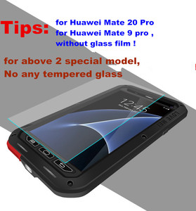 Image 5 - Huawei P30 P40 Pro P20 lite P10 Mate 30 Pro 20 10 Nova 4e 3e 4 durumda aşk MEI metal zırh alüminyum silikon su geçirmez kılıf