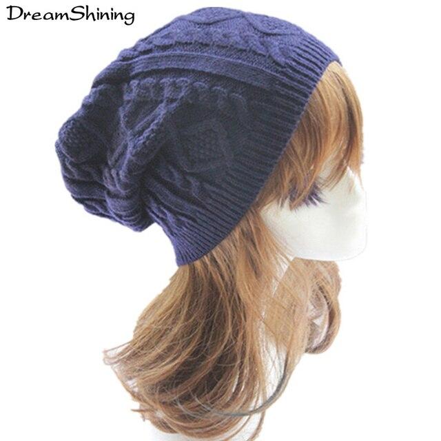 Горячая Продажа!!! осень И Зима Корея Стиль Шляпы Женской Моды Шляпу Вязание Куча Набор Головкой Тепло Зимой