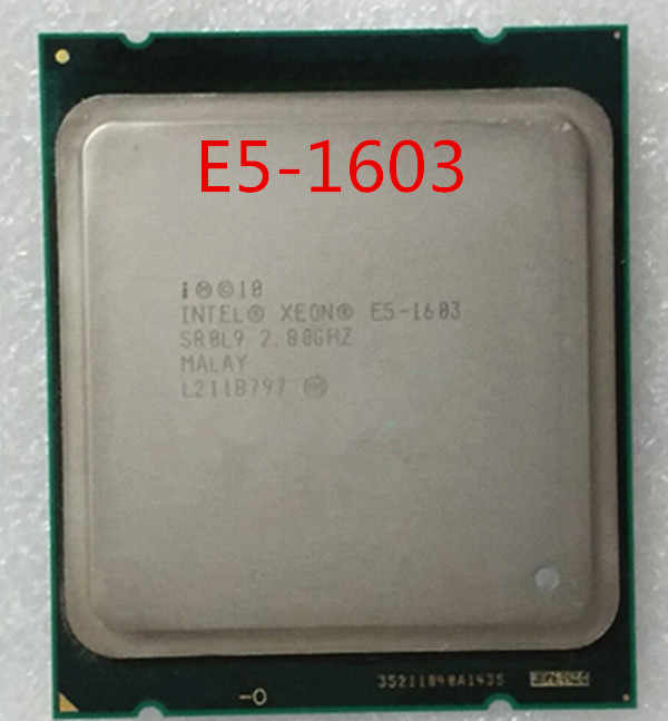 Official version INTEL Xeon E5-1603 quad-core E5 1603 2011 pin CPU