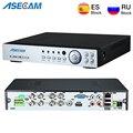Neue Super 8CH 4MP AHD DVR Digital NVR Video Recorder für CCTV Sicherheit Kamera IP Onvif Netzwerk HD 1080 P alarm Multi-funktion