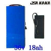 36 v 18ah bateria de lítio 36 v 15ah 18ah ebike bateria 36 v 500 w 1000 w scooter elétrico com 15a bms + 2a carregador livre dever