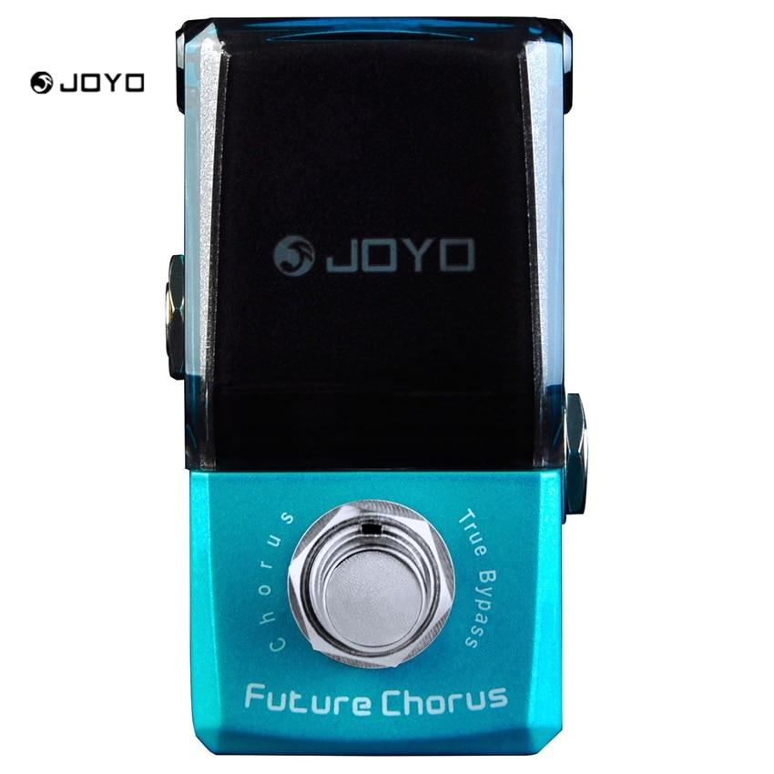 JOYO JF-316 Future Chorus Mini Electric Guitar Effect Pedal with Knob Guard True Bypass focal chorus 714 rosewood