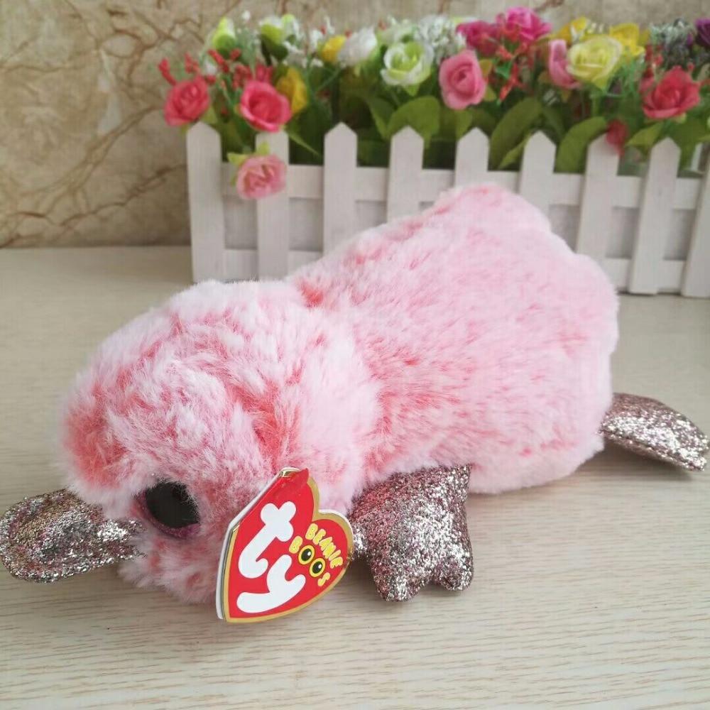 "Ty Beanie Boos Plush Soft Stuffed Cute Animal Dog Doll Toy with Heart Tag 6/""15cm"