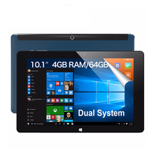 iWork10 ultimate Dual Boot 10.1″ Tablet PC Windows10 + Android 5.1 Intel Quad Core 4GB RAM 64GB ROM 10.1 Inch IPS 1920*1200 HDMI