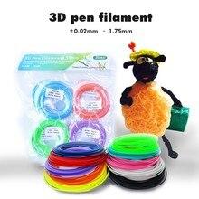 1.75mm 3D Pen Filament  5m/10m PLA/ABS Filament  Send By Random Color SUNLU Ordinary 3D Printing Pen Consumable