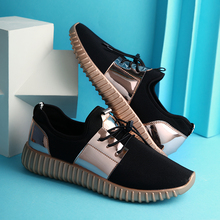 Summer Breathable Shoes Men Flat shoes Autumn Fashion  Men Shoes Couple  Casual  Shoes Plus size 35-46