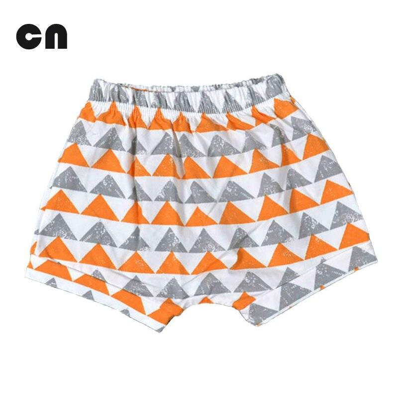 Bermudas de Algodão Do Bebê da roupa Do Bebê de verão Geometria E Impressão  Multicolor Dos Desenhos Animados Do Bebê da menina do menino e do bebê  shorts ... 86ed525fc3b0d