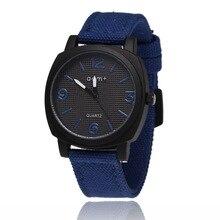 Топ бренд Роскошные мужские часы кварцевые аналоговые нейлоновые часы мужские военные часы спортивные наручные часы Relogio Masculino reloj hombre