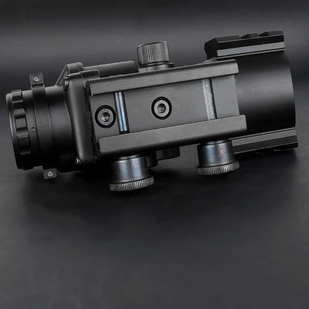 4x32 كتف Riflescope 20 مللي متر تتوافق مع البصريات المنعكس نطاق البصر التكتيكي لبندقية بندقية الادسنس قناص المكبر مسدس هواء