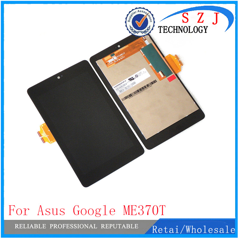 Full new LCD display+Touch Digitizer Screen for ASUS Google Nexus 7 1st Gen nexus7 2012 ME370 ME370T ME370TG Free shipping luxury fashion men crystal flats metal pointed toe huarache slip on wedding shoes man 36 46 chaussure homme sapato masculino