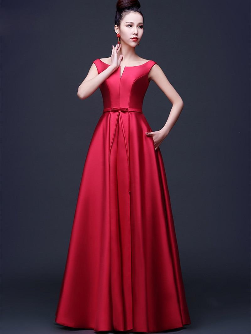 huge selection of 43414 5b595 Più nuovo arrivo eleganti vestiti da sera rossi 2016 una ...