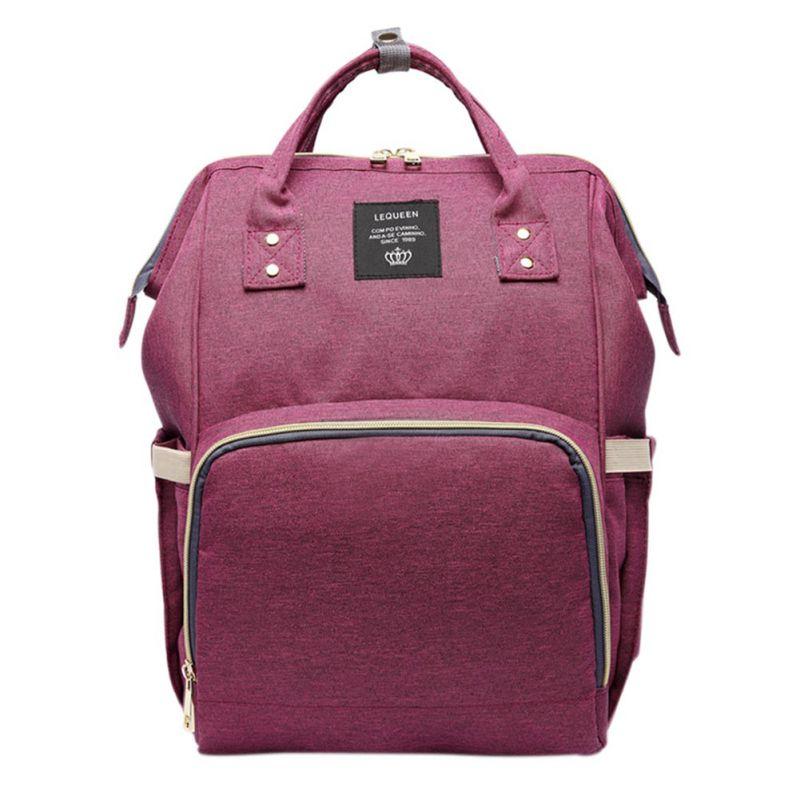 Fashion Mom Pregnant Women Baby Care Diaper Bag Pregnant Diaper Bag Brand High-Capacity Cosmetic Bag Baby Bag Travel Backpack