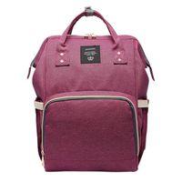 Fashion Mom Pregnant Women Baby Care Diaper Bag Pregnant Diaper Bag Brand High Capacity Cosmetic Bag