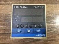SCN-PS61A altı tek aşamalı geçersiz kılma ile akıllı sayaçlar  zamanlayıcılar