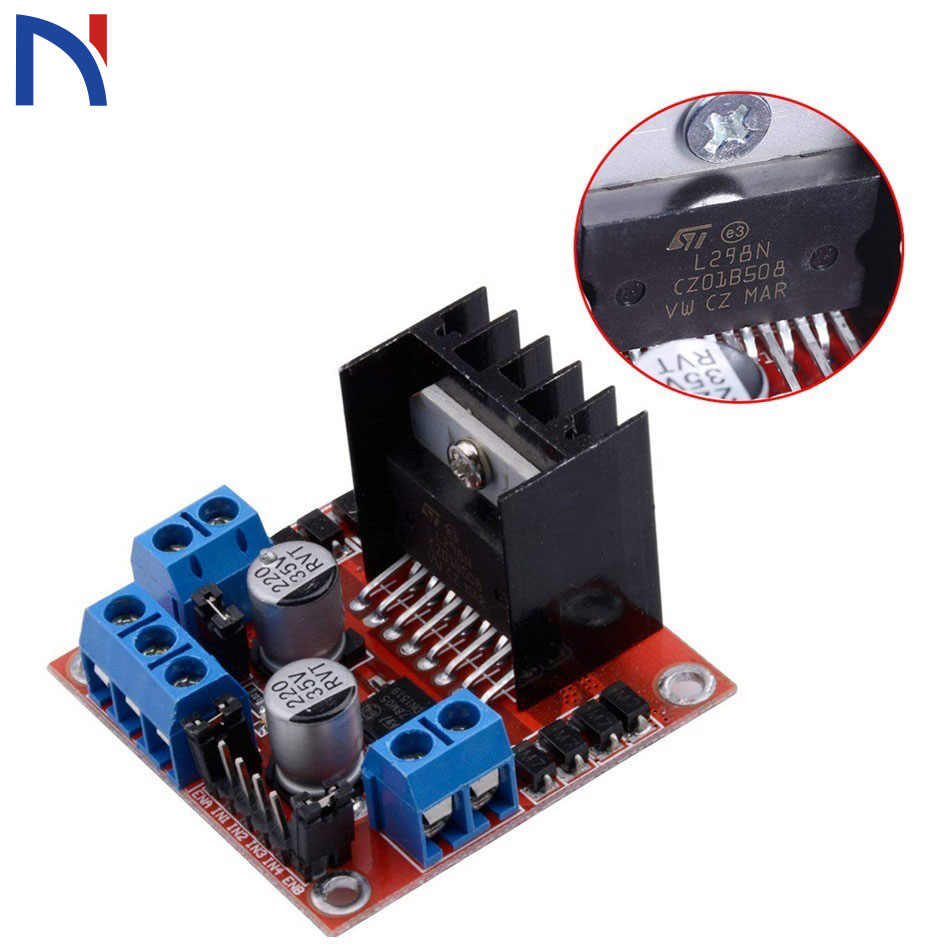 1pcs L298N driver board module L298 stepper motor smart car robot breadboard peltier High Power for Arduino Smart Car
