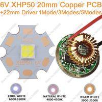 Cree XHP50 Cool White Neutral White Warm White High Power LED Emitter 6V 20mm Copper PCB