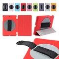 Для Apple Ipad mini 1 mini 2 mini 3 360 руки вращающийся Кожаный Чехол Подставка Откидная Крышка проснуться сна с бесплатной подарок