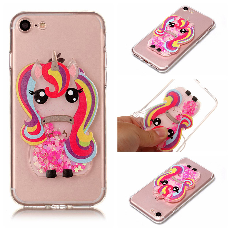 Luxury Women Girl Lady 3D Cute Rhinestone Diamond+Quicksand TPU Phone Case For Motorola  ...