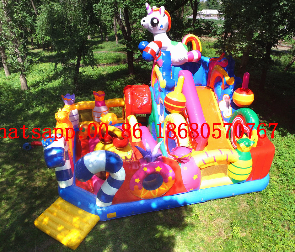 (China Guangzhou) Inflatable Slides, Inflatable Castles, Inflatable Pool Slide Obstacle Course TOB-197