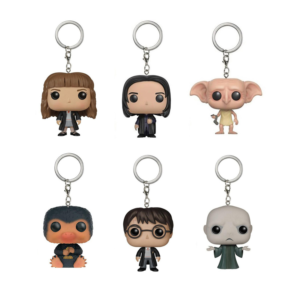 Harry Potter Keychain Figure Collection Model Toys Key Chain with Retail Box  beatrix potter collection volume one