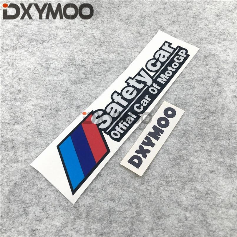 Car Styling M Performance Safety Moto GP GS X3X5 Car Window Tail Sticker Decals 200x42mm